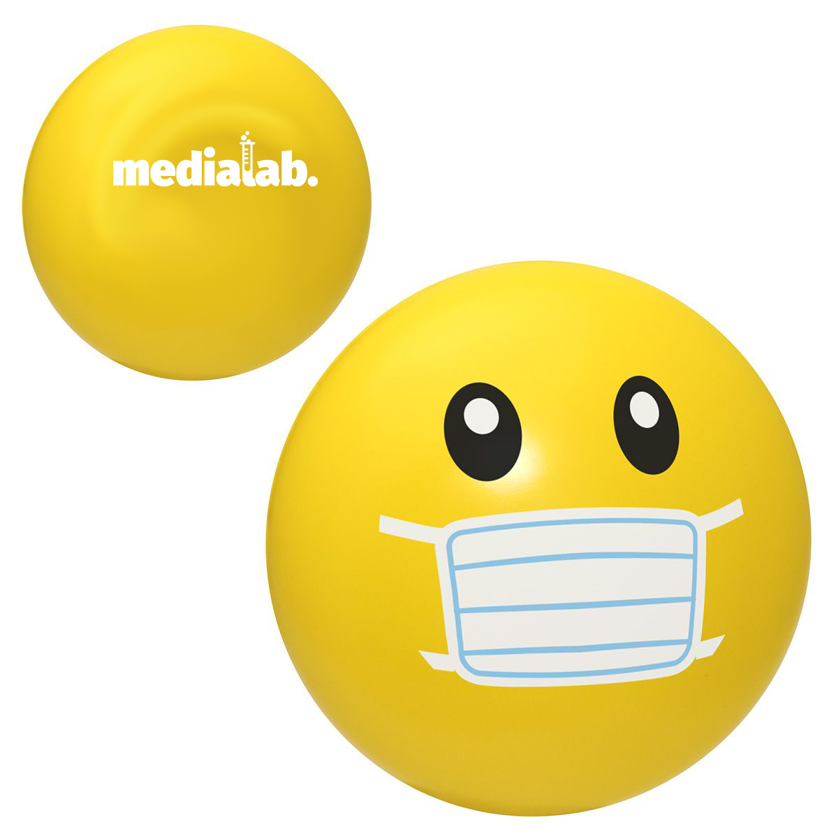 mask stress ball