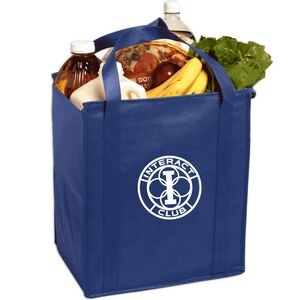 Insulated Large Non-Woven Grocery Tote Bag