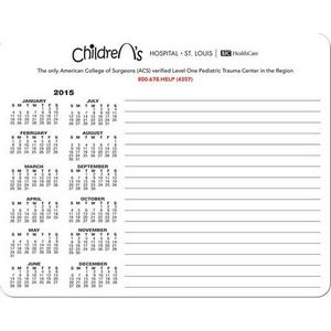 "Mouse White Paper Notepads (8 3/8""x6 3/4"")"