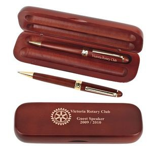 Rosewood Pen & Pencil Set