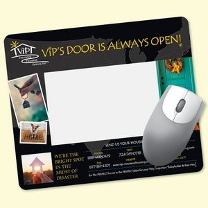 "Frame-It Flex® Heavy Duty 8""x9.5""x1/8"" Window/Photo Mouse Pad"