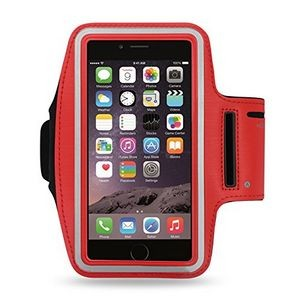 iBank(R) Sports Armband for iPhone XS/Max/XR/7/8/Plus (Red)