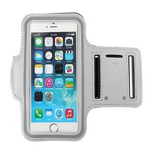 iBank(R) Sports Armband for iPhone XS/Max/XR/7/8/Plus (Silver)