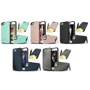 "iBank(R) Credit Card Slot Case with Kickstand for iPhone 7/8 Plus (5.5"")"