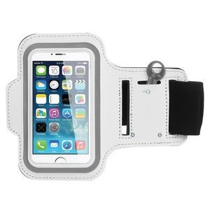 iBank(R) Sports Armband for iPhone XS/Max/XR/7/8/Plus (White)