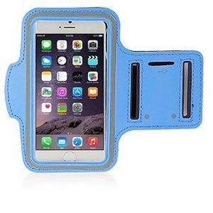 iBank(R) Sports Armband for iPhone XS/Max/XR/7/8/Plus (Blue)