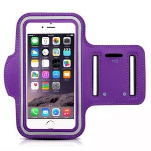 iBank(R) Sports Armband for iPhone XS/Max/XR/7/8/Plus (Purple)