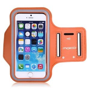 iBank(R) Sports Armband for iPhone XS/Max/XR/7/8/Plus (Orange)