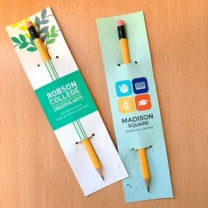 Single-Sided Plantable Pencil Sleeves